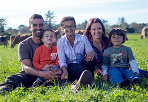 Organic Valley Farm Family