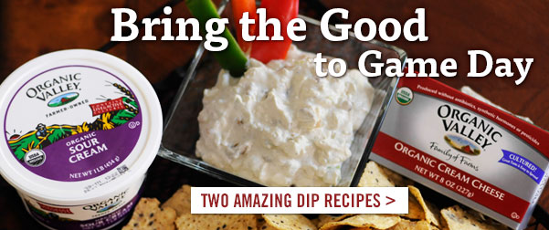 Bring the Good to Game Day - Two Fantastic Dip Recipes!