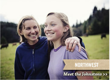 Northwest - Meet the Johnstons