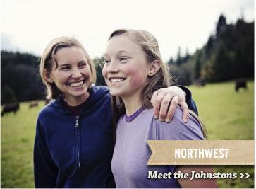 Northwest - Meet the Johnstons