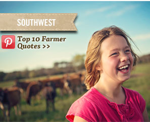 Southwest - Top 10 Farmer Quotes on Pinterest