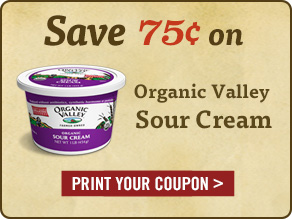Organic Valley Sour Cream - Print Your Coupon