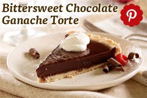 Bittersweet Chocolate Ganache Torte