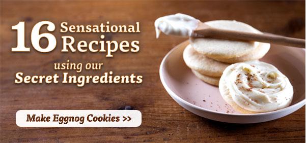 Make Eggnog Cookies