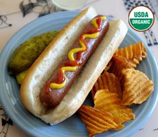 Organic Grassfed Beef Hotdogs