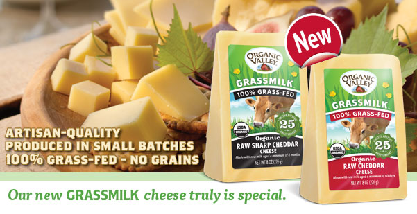 Introducing Grassmilk Cheese - Artisan Quality - No Grain