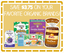 Save $3.75 On Your Favorite Organic Brands!